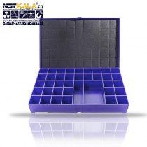 جعبه نگهداری ست کامل حروف و عدد سربی رادیوگرافی صنعتی-min