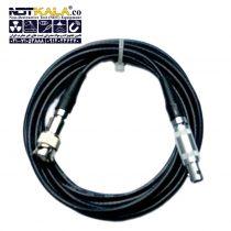 کابل دستگاه تست التراسونیک (کابل دستگاه ut) و دستگاه ضخامت سنج Q6 به C6 (کیو6 به سی6) مارک داپلر Ultrasonic Cable – Doppler