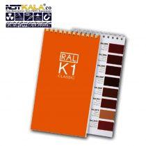 Elcometer 6210 RAL Colour Charts رال رنگ الکومتر K1 (1)