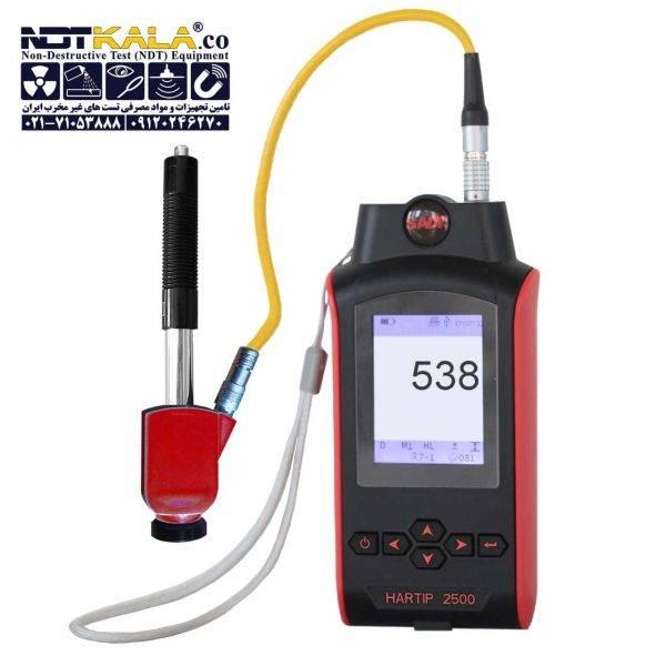 2 سختی سنج فلز پرتابل هارتیپ Portable Hardness Tester HARTIP 2500 With Digital Probe