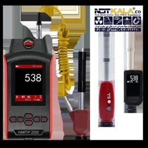 6 سختی سنج فلز پرتابل هارتیپ Portable Hardness Tester HARTIP 2500 With Digital Probe